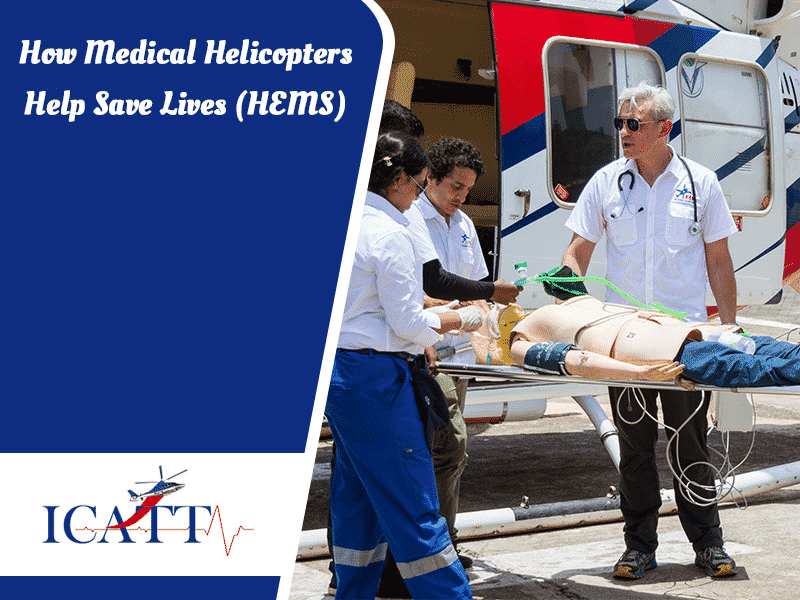 How Medical Helicopters Help Save Lives (HEMS)