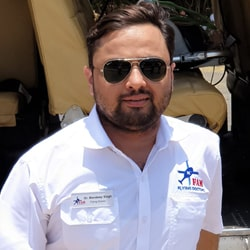 Dr Mandeep Singh Flying Doctors in ICATT Air Ambulance Services, helicopter ambulance near me