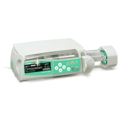 ICATT Air Ambulance provides Syringe Infusion pump for Patients during transportation, disaster trauma patients transport services in India
